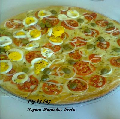 massa de pizza de liquidificador com 1 ovo