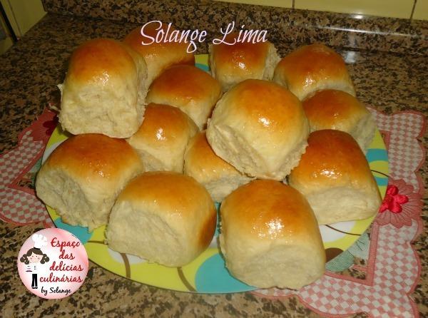 Pãozinho doce com leite em pó