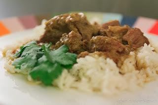Curry d'agneau