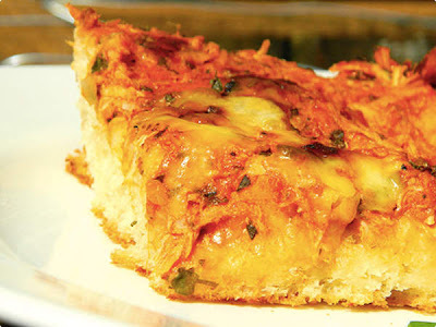 Pizza Fácil de Massa Mole