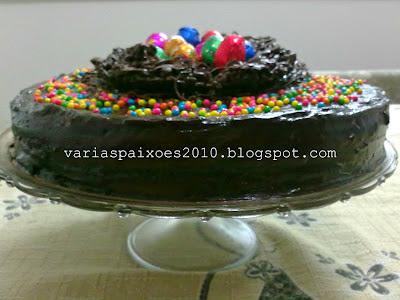 bolo de chocolate massa pronta ana maria braga