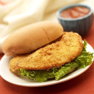 Sandwich de milanesa de pollo