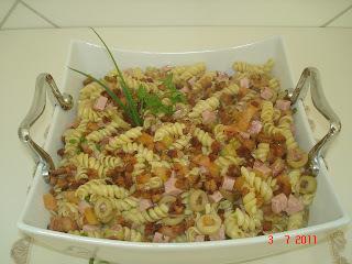 Salada de Macarrão da Chef