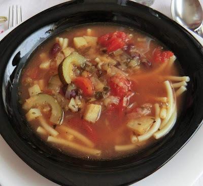 Minestrone leves II. - Olasz zöldségleves