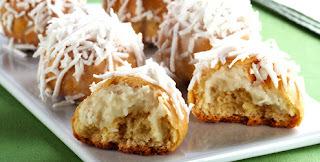 Pãozinho de coco cremoso