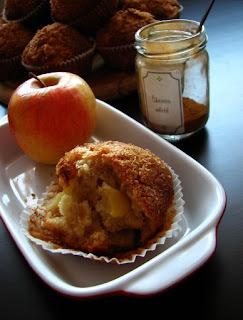 Jablkové muffiny so škoricou