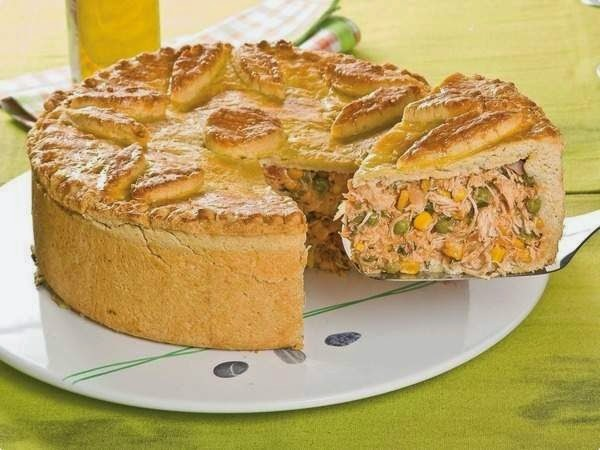 Torta De Frango Gaúcha
