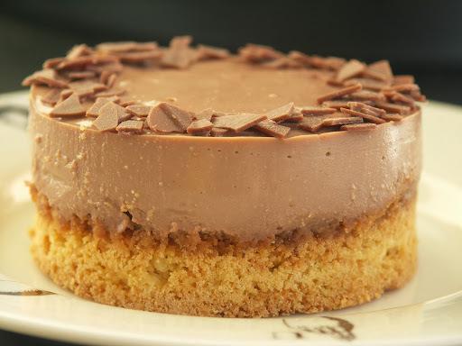 Cheesecake croustillant au chocolat
