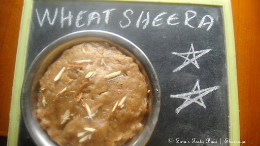 Wheat Sheera / Wheat Flour Halwa