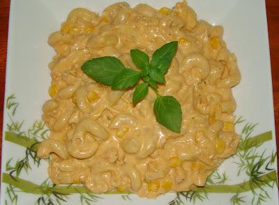 de macarrão no forno com maionese