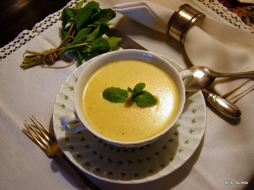 Crema de col, chirivía y menta | Crema Da Vinci
