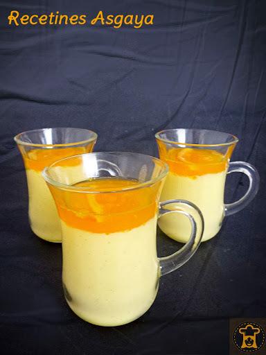 Crema de Vainilla y Naranja