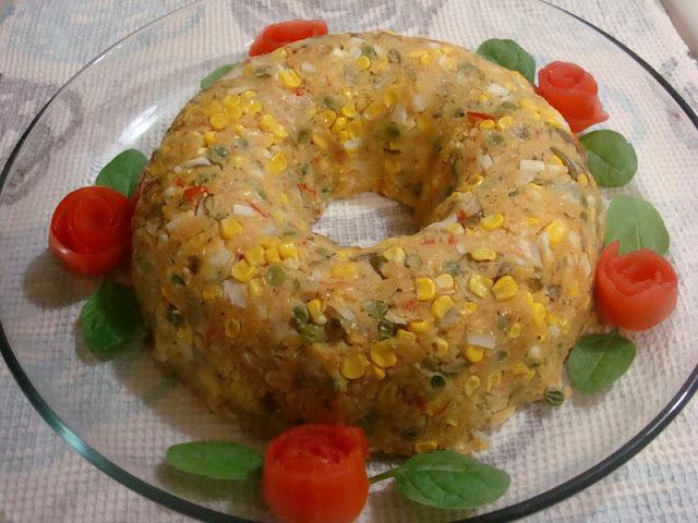 Cuscuz paulista vegetariano