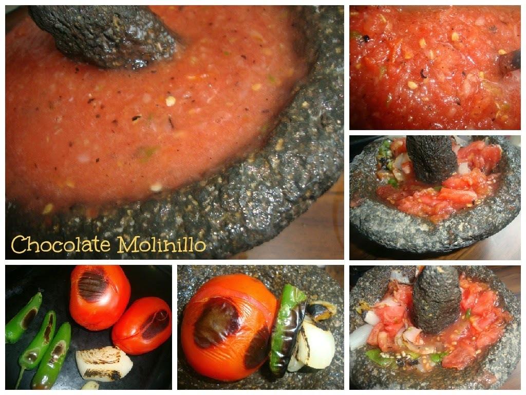 Salsa Molcajeteada
