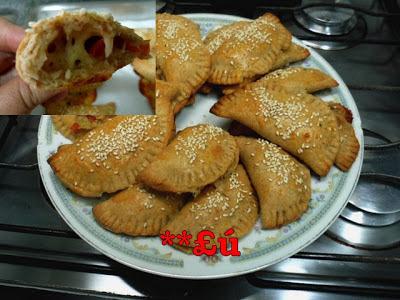 de pastel de forno caseiro assado