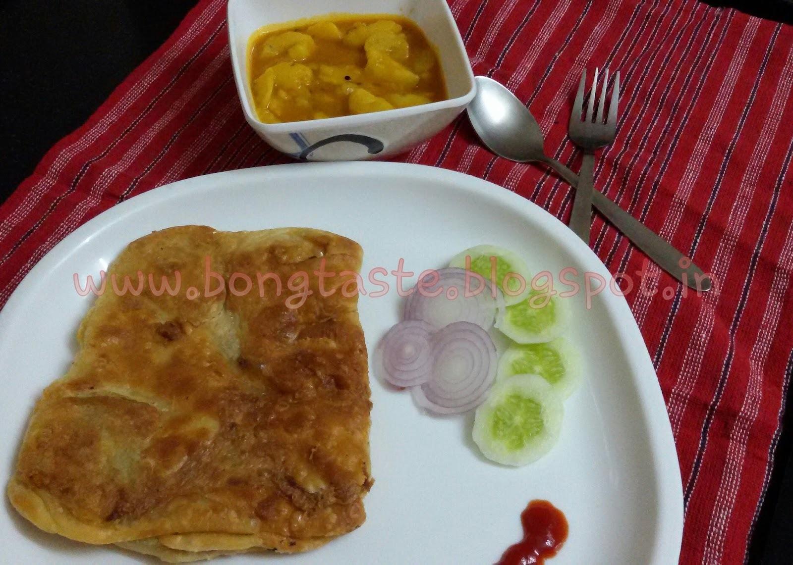 Kolkatta Style Moghlai Paratha. ..