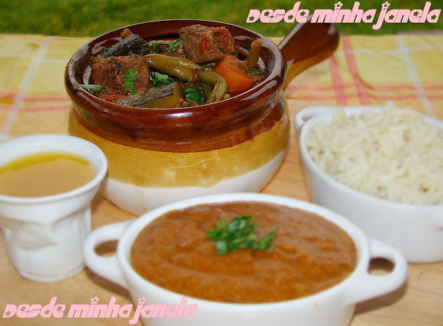 batata chuchu e cenoura cozida