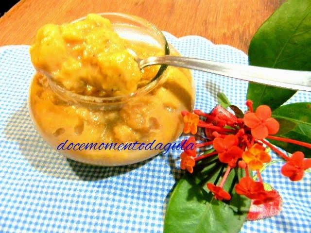 Chutney de Banana com Curry