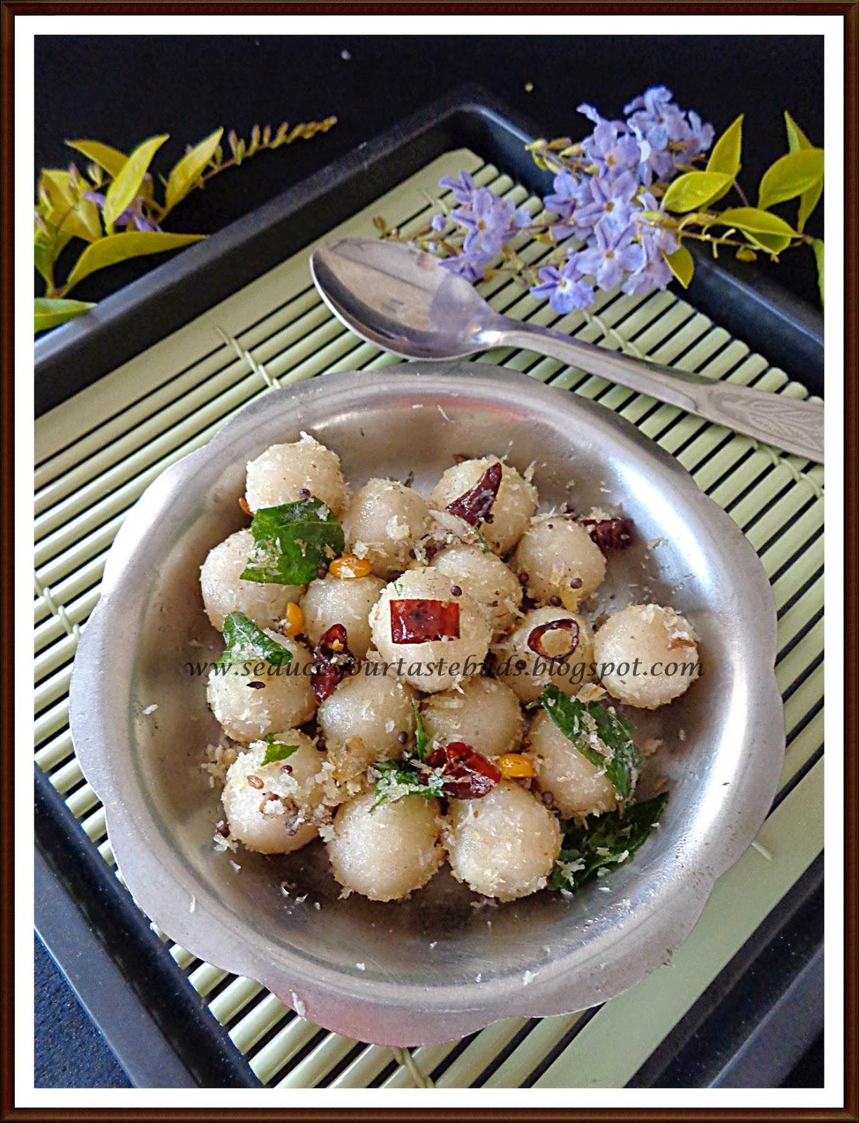 Barnyard Millet | Kuthiraivali Ammini Kozhukattai
