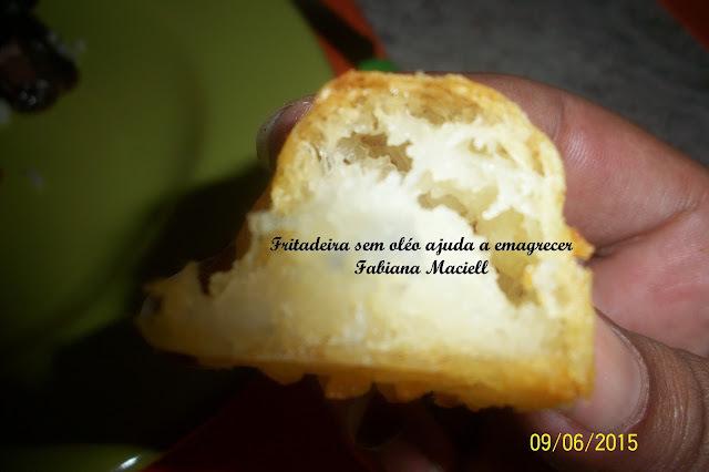 Cubinho de Mandioca , macaxeira , aipim cremoso frito na Fritadeira sem óleo AirFryer