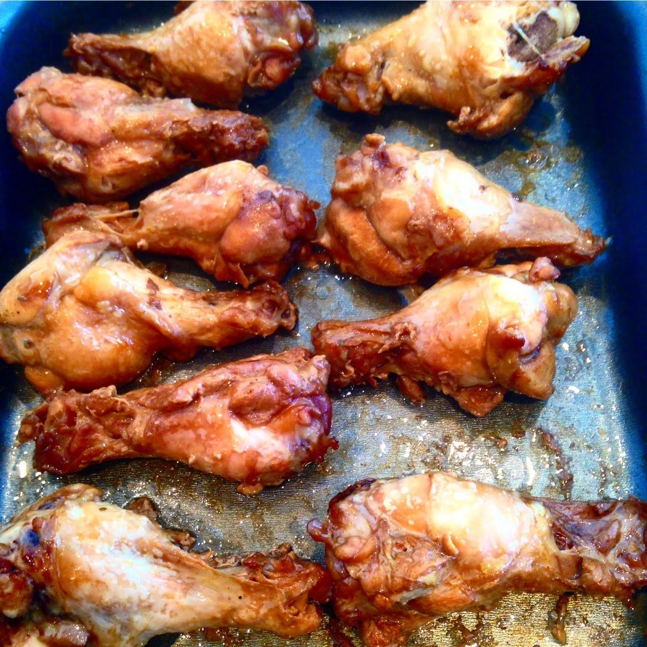 Coxinhas marinadas para churrasco ou assar no forno