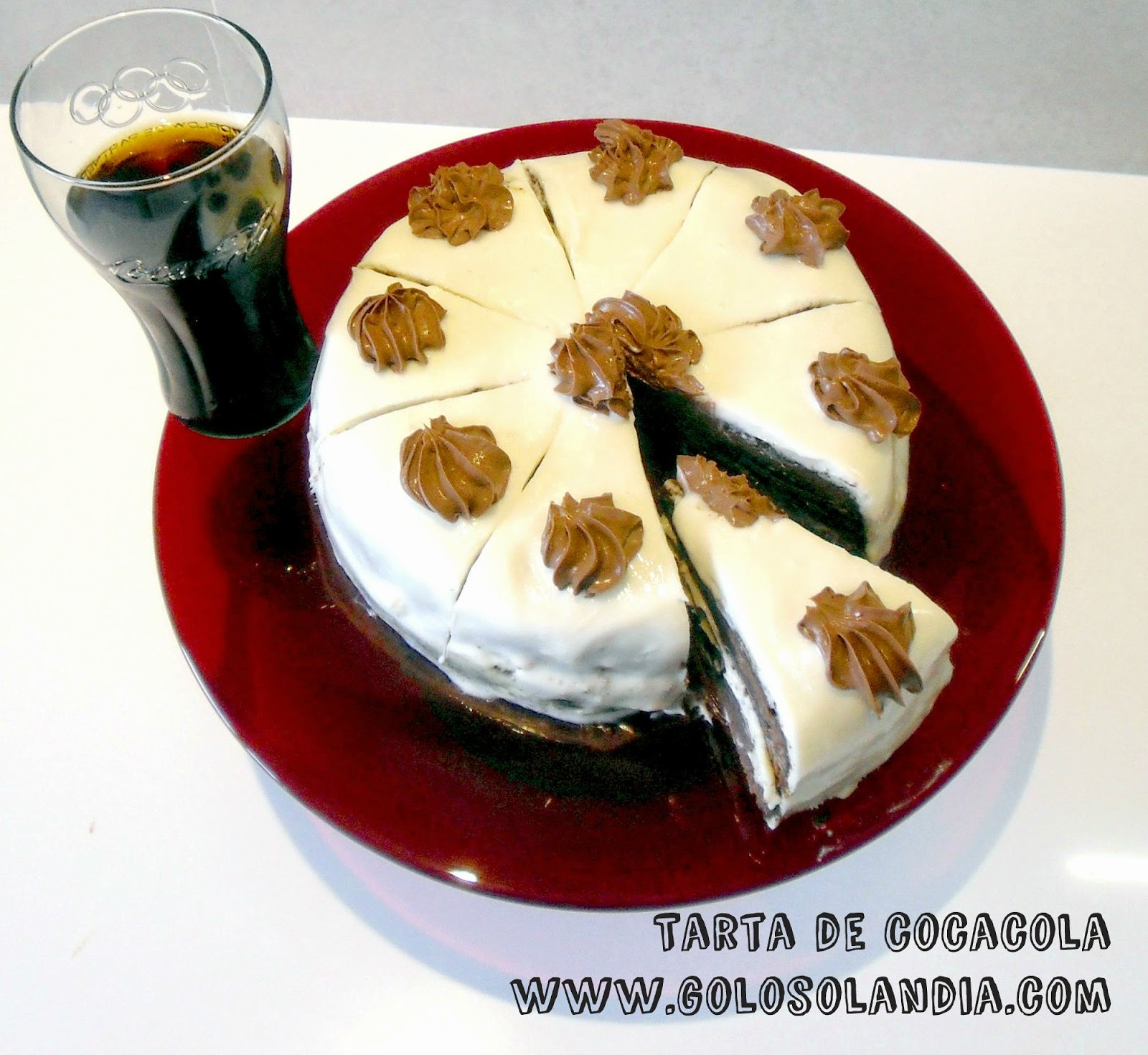 Tarta de Cocacola