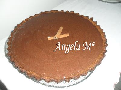Torta cappuccino de chocolate