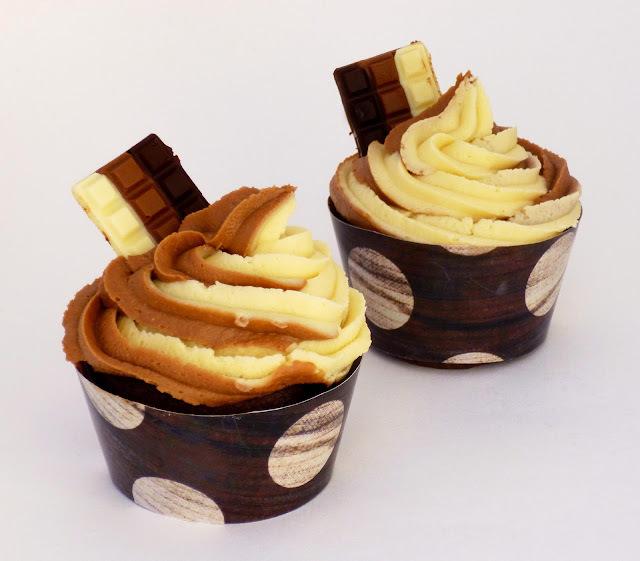 Cupcakes Tres Chocolates