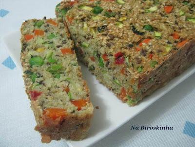 Terrine de Quinoa com Aveia e Vegetais