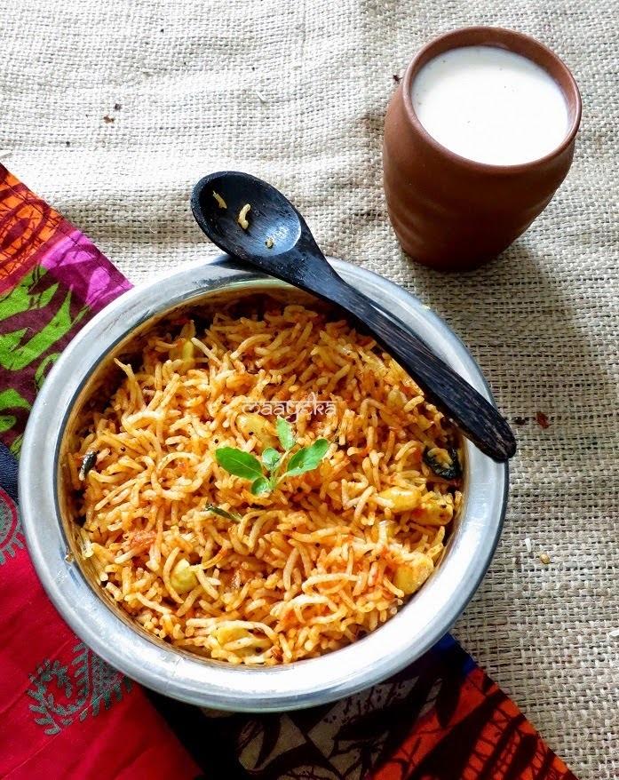 Minty Tomato Rice