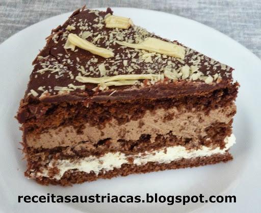 TORTA  DE  CAFÉ  E  CHOCOLATE   LATTE   MACCHIATO   -   Latte-Macchiato-Torte