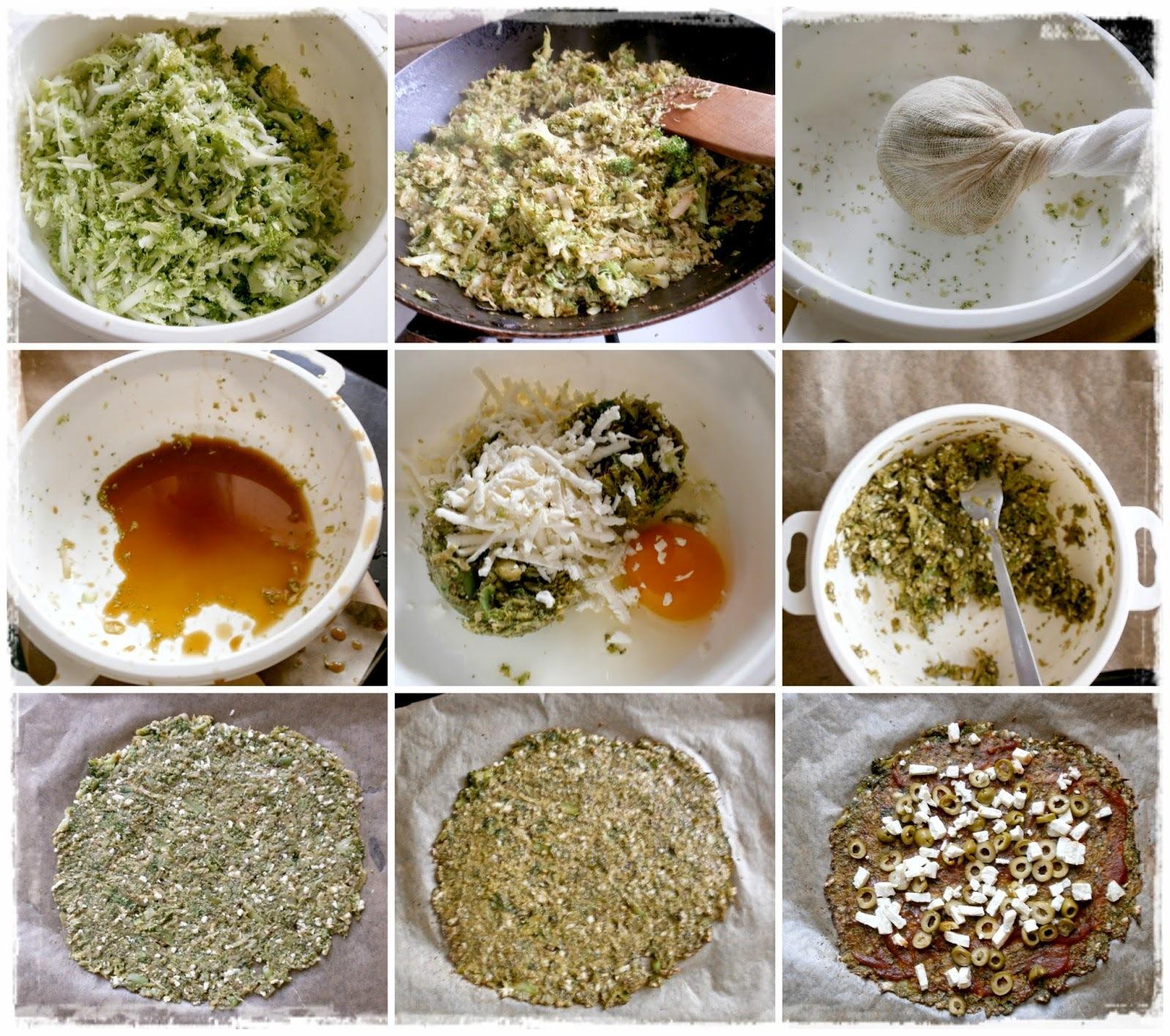 Brokolizza.. s Fetou a olivami