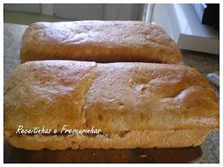 Pão de aveia com farinha integral