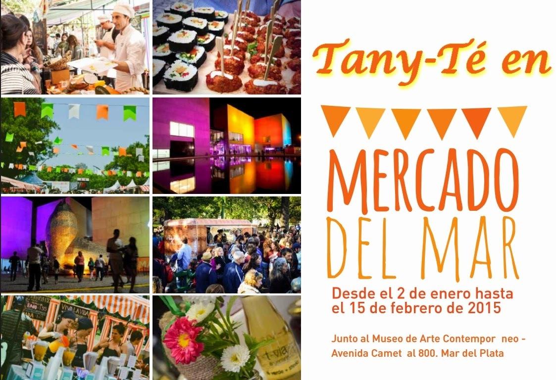 Tany-Té en el Mercado del Mar
