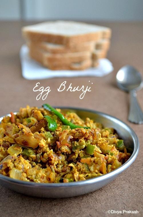Egg Bhurji / Muttai Masala Poriyal