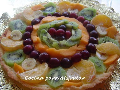 gelatina de leche con frutas