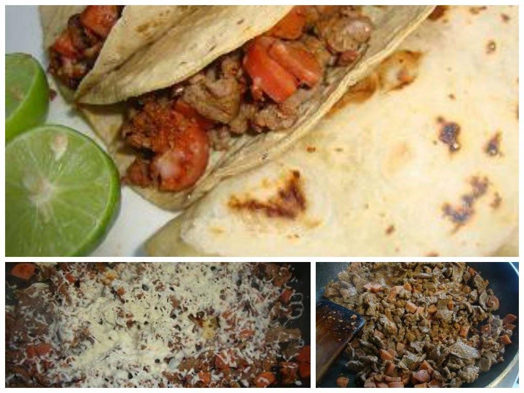 Res, Chorizo y Salchicha para Tacos