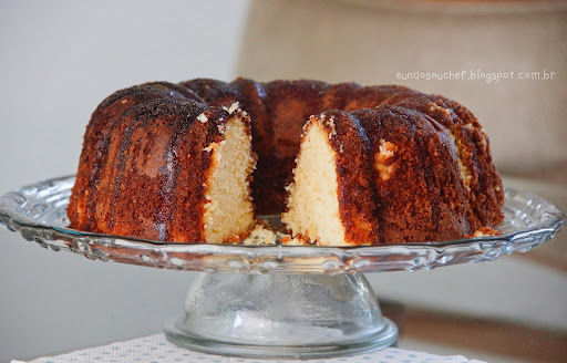 ana maria braga de bolo de laranja com calda de laranja