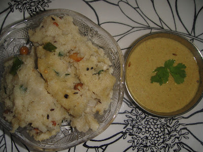 KANCHIPURAM UPMA-SOUTH INDIAN BREAKFAST