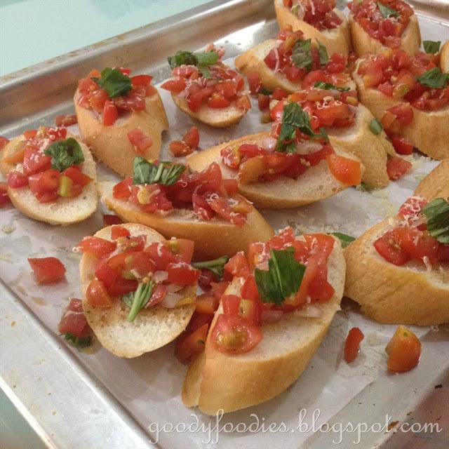 Recipe: Tomato Bruschetta