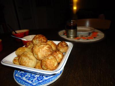 Æbleskiver - the old fasion way