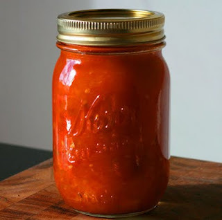 molho de tomate caseiro feito no liquidificador