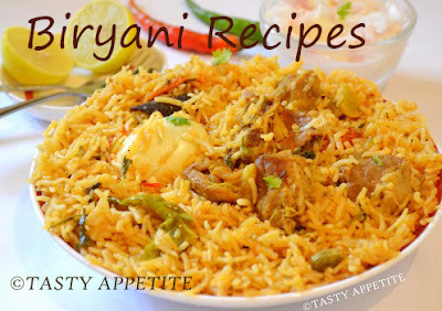 BIRYANI RECIPES / BIRYANI RECIPE COLLECTIONS / INDIAN BIRYANI RECIPES / NON-VEGETARIAN
