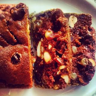 Eggless Plum Cake (Christmas Cake)