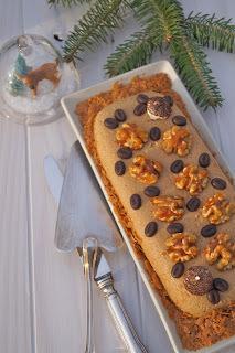 Gâteau express au café et aux noix sans cuisson