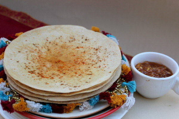 Gujrati Khakra for Indian Cooking Challenge