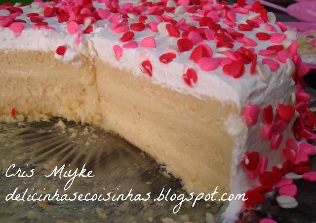 bolos recheados de chocolate branco