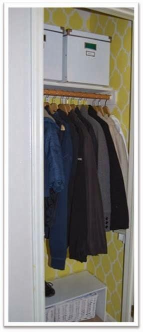 Roupeiro: Guardar a roupa de inverno