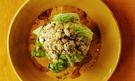 Κουνουπίδι λαδολέμονο με σουμάκ και μουστάρδα
