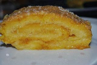 Torta de Laranja  & Gelado de Abacaxi na Pressão.